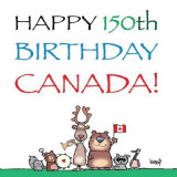 Omslag - Happy 150th Birthday, Canada!