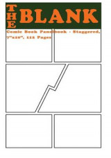 Omslag - The Blank Comic Book Panelbook - Staggered, 7x10, 112 Pages