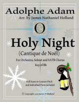Omslag - O Holy Night (Cantique de Noel) for Orchestra, Soloist and Satb Chorus