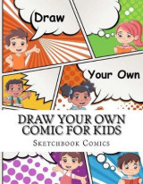 Omslag - Draw Your Own Comic for Kids