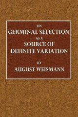 Omslag - On Germinal Selection as a Source of Definite Variation