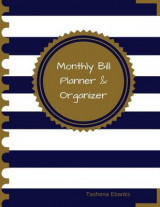 Omslag - Monthly Bill Planner and Organizer