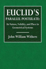 Omslag - Euclid's Parallel Postulate