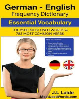 Omslag - German English Frequency Dictionary - Essential Vocabulary