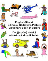 Omslag - English-Slovak Bilingual Children's Picture Dictionary Book of Colors