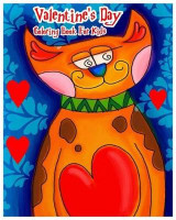 Omslag - Valentine's Day Coloring Book for Kids