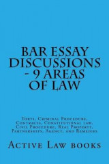 Omslag - Bar Essay Discussions - 9 Areas of Law