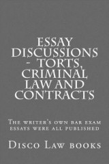 Omslag - Essay Discussions - Torts, Criminal Law and Contracts