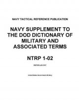 Omslag - Navy Tactical Reference Publication Ntrp 1-02 Navy Supplement to the Dod Dictionary of Military and Associated Terms Jan 2017