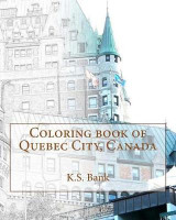 Omslag - Coloring Book of Quebec City, Canada