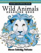 Omslag - Wild Animals Coloring Books