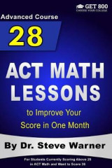 Omslag - 28 ACT Math Lessons to Improve Your Score in One Month - Advanced Course