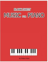 Omslag - Blank Sheet Music for Piano
