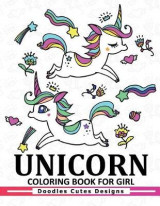 Omslag - Unicorn Coloring Book for Girls