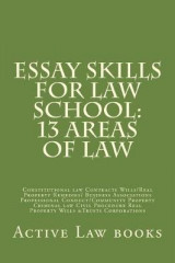 Omslag - Essay Skills for Law School