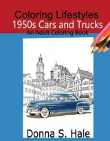 Omslag - 1950s Cars and Trucks Adult Coloring Book