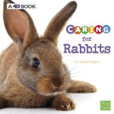 Omslag - Caring for Rabbits: a 4D Book (Expert Pet Care)