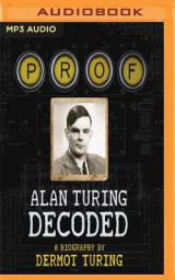 Omslag - Prof: Alan Turing Decoded