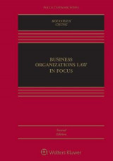 Omslag - Business Organizations Law in Focus