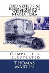 Omslag - The Inventions Researches and Writings of Nikola Tesla