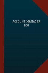 Omslag - Account Manager Log (Logbook, Journal - 124 Pages, 6