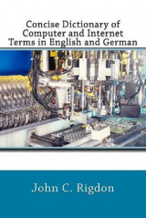 Omslag - Concise Dictionary of Computer and Internet Terms in English and German