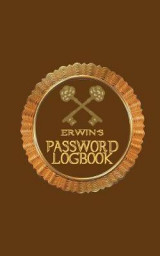 Omslag - Erwin's Password Logbook