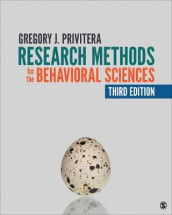 Research Methods for the Behavioral Sciences av Gregory J. Privitera (Innbundet)