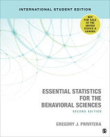 Omslag - Essential Statistics for the Behavioral Sciences
