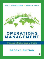 Operations Management av Jeffrey K Pinto og Ray R Venkataraman (Innbundet)