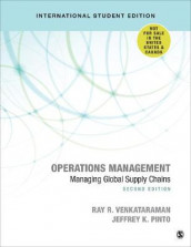 Operations Management - International Student Edition av Jeffrey K. Pinto og Ray R. Venkataraman (Heftet)