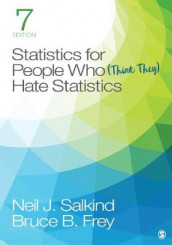 Statistics for People Who (Think They) Hate Statistics av Bruce B Frey og Neil J Salkind (Heftet)
