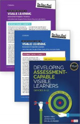 Omslag - BUNDLE: Frey: Developing Assessment-Capable Visible Learners + Almarode: OYFG to Visible Learning: Assessment-Capable Teachers + Almarode: OYFG to Visible Learning: Assessment-Capable Learners
