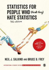 Statistics for People Who (Think They) Hate Statistics - International Student Edition av Bruce B. Frey og Neil J. Salkind (Blandet mediaprodukt)