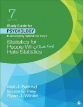Study Guide for Psychology to Accompany Salkind and Frey's Statistics for People Who (Think They) Hate Statistics av Bruce B. Frey, Neil J. Salkind og Ryan J. Winter (Heftet)