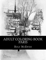 Omslag - Adult Coloring Book - Paris
