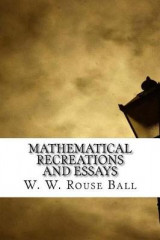 Omslag - Mathematical Recreations and Essays