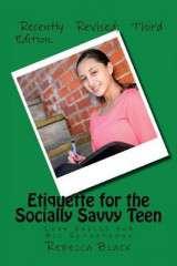 Omslag - Etiquette for the Socially Savvy Teen