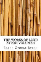 Omslag - The Works of Lord Byron Volume 4