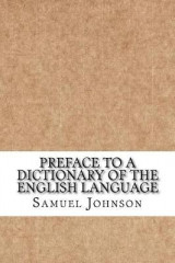 Omslag - Preface to a Dictionary of the English Language