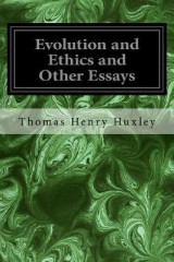 Omslag - Evolution and Ethics and Other Essays