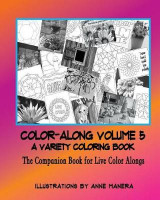 Omslag - Color-Along a Variety Coloring Book Volume 5