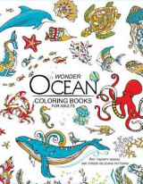 Omslag - Wonder Ocean Coloring Books for Adults
