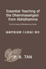 Omslag - Essential Teaching of the Dhammasangani from Abhidhamma