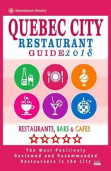 Omslag - Quebec City Restaurant Guide 2018