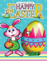 Omslag - Happy Easter Coloring Book