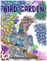 Omslag - Bird Garden Coloring Book for Adults