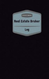 Omslag - Real Estate Broker Log (Logbook, Journal - 96 Pages, 5 X 8 Inches)