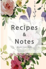 Omslag - Blank Cook Book Recipes & Notes