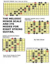 Omslag - The Melodic Minor Scale and Its Modes for Eight String Guitar